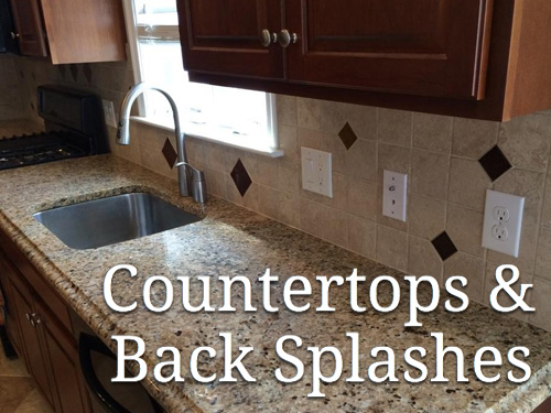 Countertops & Back Splashes